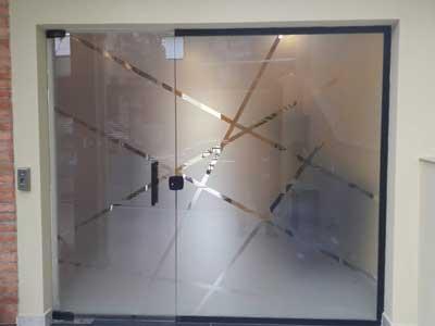 Película para divisórias de vidro da TW Películas