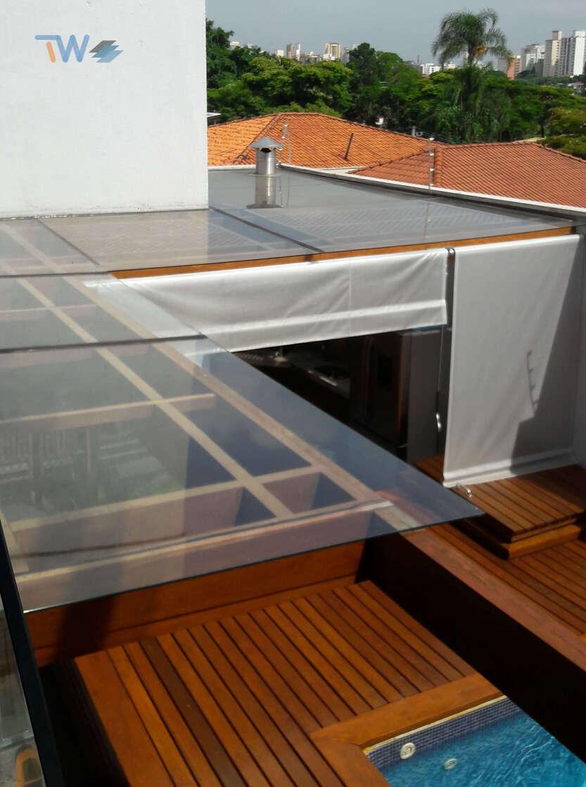 Películas para teto pergolado